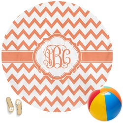 Chevron Round Beach Towel (Personalized)