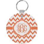 Chevron Round Keychain (Personalized)