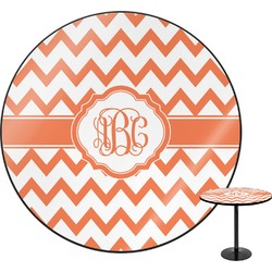 Chevron Round Table (Personalized)