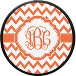 Chevron Round Trailer Hitch Cover (Personalized)