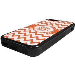 Chevron Rubber iPhone 5C Phone Case (Personalized)