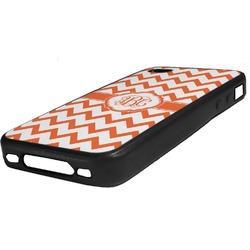 Chevron Rubber iPhone Case 4/4S (Personalized)