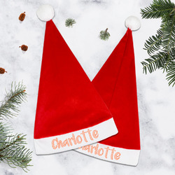 Chevron Santa Hat (Personalized)