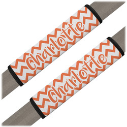 Chevron Seat Belt Covers (Set of 2) (Personalized)