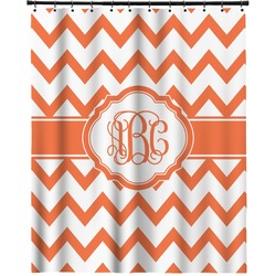 """Chevron Extra Long Shower Curtain - 70""""x84"""" (Personalized)"""