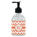 Chevron Soap/Lotion Dispenser (Glass) (Personalized)