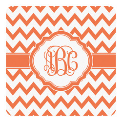 Chevron Square Decal - Custom Size (Personalized)