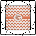 Chevron Square Trivet (Personalized)
