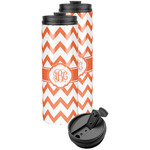 Chevron Stainless Steel Skinny Tumbler (Personalized)