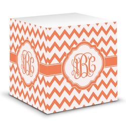 Chevron Sticky Note Cube (Personalized)