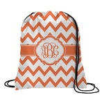 Chevron Drawstring Backpack (Personalized)