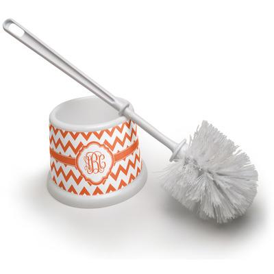 Chevron Toilet Brush (Personalized)
