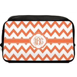 Chevron Toiletry Bag / Dopp Kit (Personalized)