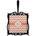 Chevron Trivet with Handle (Personalized)