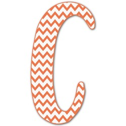 Chevron Letter Decal - Large (Personalized)