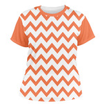 Chevron Women's Crew T-Shirt (Personalized)