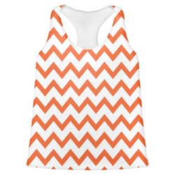Chevron Womens Racerback Tank Top (Personalized)