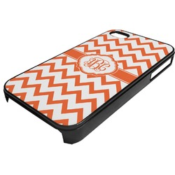 Chevron Plastic 4/4S iPhone Case (Personalized)