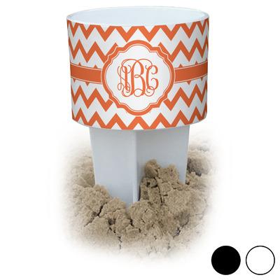 Chevron Beach Spiker Drink Holder (Personalized)