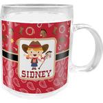 Red Western Acrylic Kids Mug (Personalized)