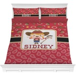 Red Western Comforters (Personalized)