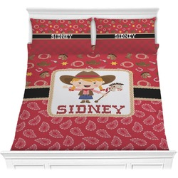 Red Western Comforter Set (Personalized)