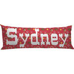 Red Western Body Pillow Case (Personalized)