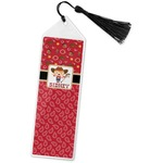 Red Western Book Mark w/Tassel (Personalized)