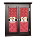 Red Western Cabinet Decal - Custom Size (Personalized)