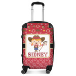Red Western Suitcase (Personalized)
