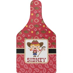 Red Western Cheese Board (Personalized)