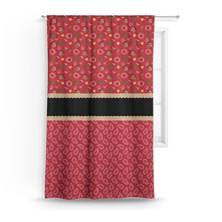 Red Western Curtain (Personalized)