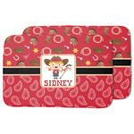 Red Western Dish Drying Mat (Personalized)