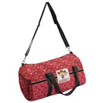 Red Western Duffel Bag (Personalized)
