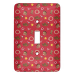 Red Western Light Switch Covers (Personalized)