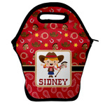 Red Western Lunch Bag (Personalized)