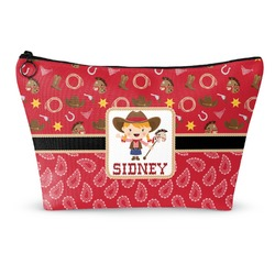 Red Western Makeup Bags (Personalized)