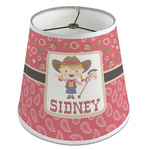Red Western Empire Lamp Shade (Personalized)