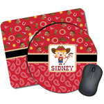 Red Western Mouse Pads (Personalized)