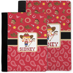 Red Western Notebook Padfolio w/ Name or Text