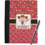 Red Western Notebook Padfolio (Personalized)