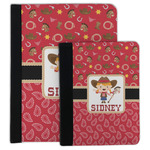 Red Western Padfolio Clipboard (Personalized)