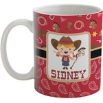 Red Western Coffee Mug (Personalized)