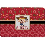 Red Western Comfort Mat (Personalized)