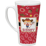 Red Western Latte Mug (Personalized)