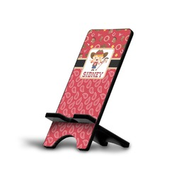 Red Western Cell Phone Stands (Personalized)