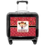 Red Western Pilot / Flight Suitcase (Personalized)