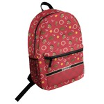Red Western Student Backpack (Personalized)