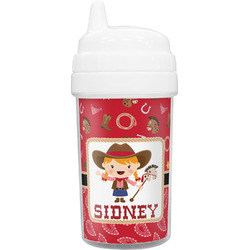 Red Western Sippy Cup (Personalized)