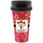 Red Western Travel Mug (Personalized)